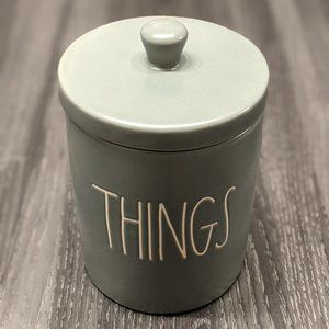 Rae Dunn THINGS Canister